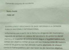 Nuevas Amenazas a las Autoridades Ancestrales en Jambaló Cauca